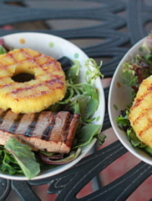 Grilled Teriyaki Chicken and/or Tofu with Grilled Pineapple | Kitchen Treaty