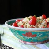 Orzo Salad with Chickpeas & Cherry Tomatoes | Kitchen Treaty
