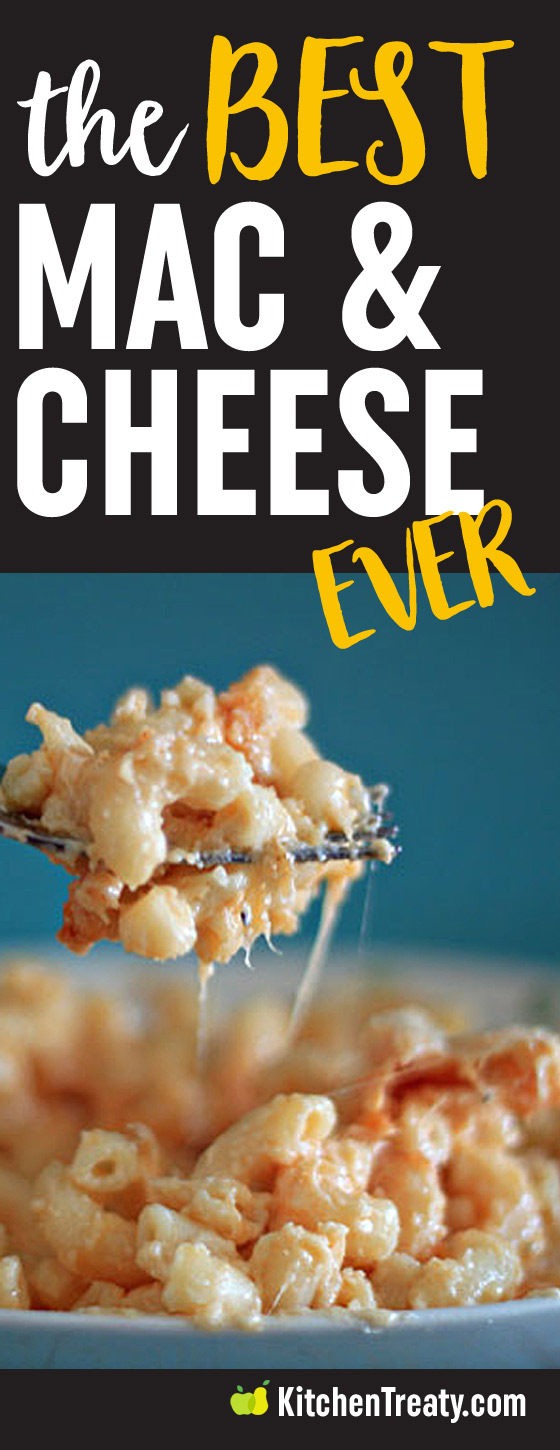 The Best Macaroni and Cheese Recipe Ever - The best macaroni and cheese recipe ever. Seriously. Creamy, cheesy, straightforward, ooey, gooey - this macaroni and cheese will knock your socks off.