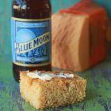 Cheddar Beer Cornbread | Kitchen Treaty