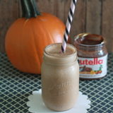 Pumpkin Nutella Smoothie | Kitchen Treaty