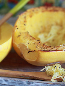 How long should i bake spaghetti squash in the oven