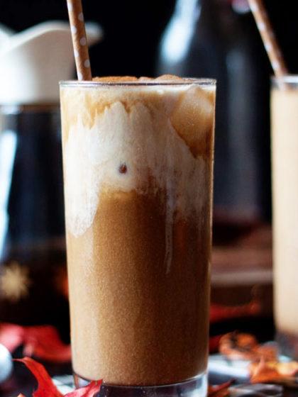 Pumpkin Spice Iced Coffee Kitchen Treaty Recipes,Granite Top Kitchen Island On Wheels