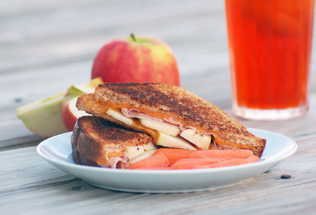 Virginia Grilled Cheese from A Sweet Simple Life