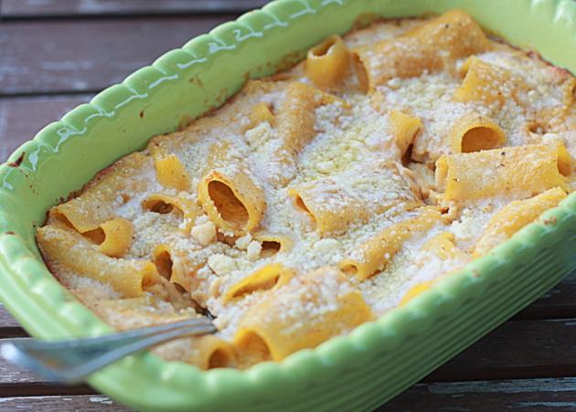 Tofu Rigatoni Casserole Recipe Dishmaps