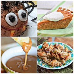 Archived! Spider Cake, Vanilla-Bourbon Sweet Potato Pie, Vegetarian Stuffing & More