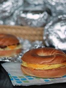 Grab & Go Bagel Breakfast Sandwiches | Kitchen Treaty