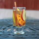 White Fall Harvest Spice Sangria | Kitchen Treaty