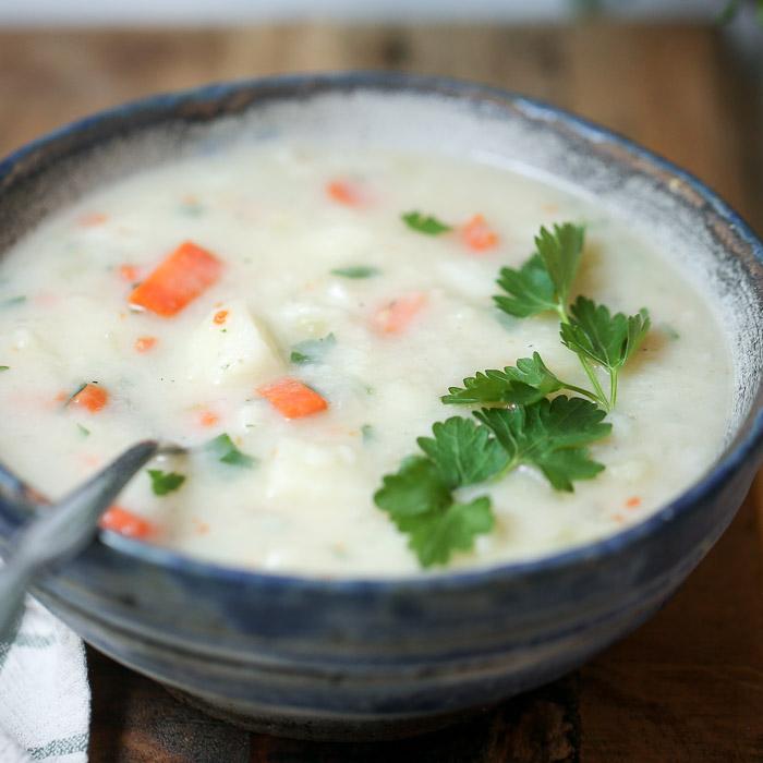 Back-to-Basics Easy Potato Soup_image