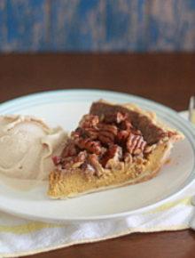 Vanilla Praline Pumpkin Pie | Kitchen Treaty