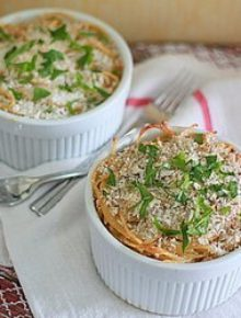 Spaghetti Pot Pie | Kitchen Treaty