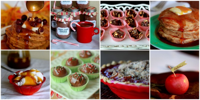 Archived! Pumpkin Pancakes, Apple-Cranberry Crumble Pie, Homemade Candy Cane Cocoa Mix & More