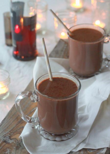 Boozy hot chocolate | Kitchen Treaty