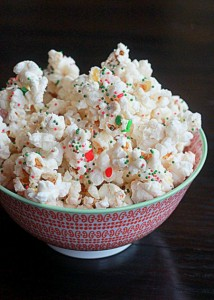 Christmas party popcorn | Kitchen Treaty