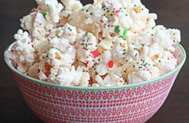 Christmas Popcorn Recipes.Christmas Party Popcorn