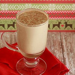 Crock Pot Eggnog Lattes