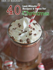 40 Last-Minute Recipes & Ideas for Christmas (that take 10 minutes or less!) | Kitchen Treaty