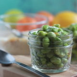 Make healthier snack choices, like this edamame