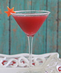 Pomegranate-orange martini | Kitchen Treaty