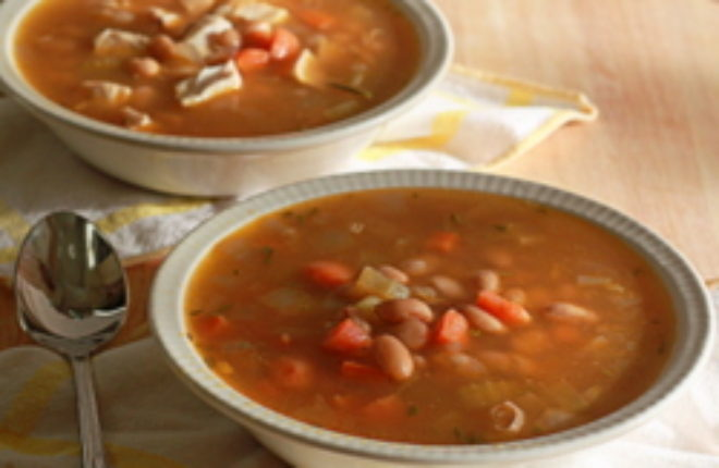Rosemary White Bean Soup with Optional Chicken - Kitchen ...