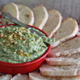 White bean & walnut-kale pesto dip | Kitchen Treaty