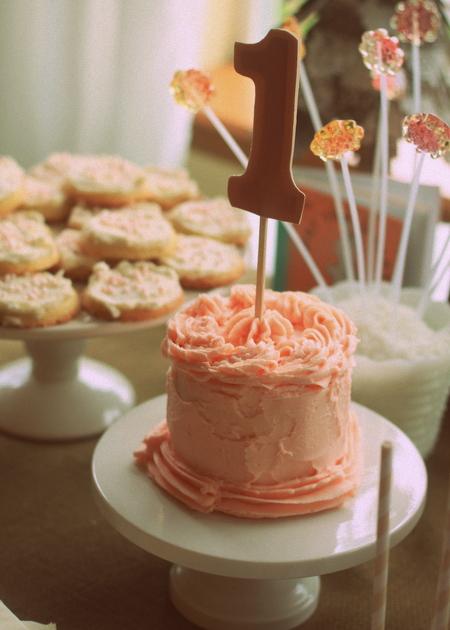 1st Birthday Party Smash Cake | Kitchen Treaty