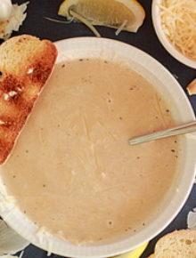 40 cloves of garlic soup | Kitchen Treaty