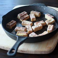 Crispy salt & pepper tofu | Kitchen Treaty