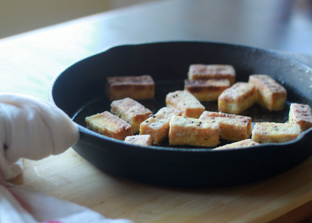 Crispy salt and pepper tofu | Kitchen Treaty