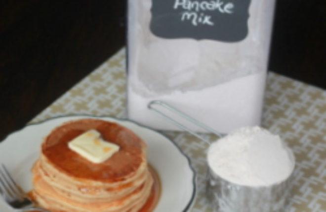 Homemade whole-wheat pancake mix | Kitchen Treaty
