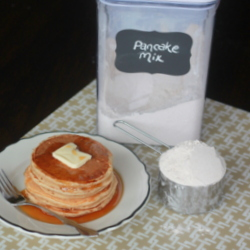Homemade Whole-Wheat Pancake Mix