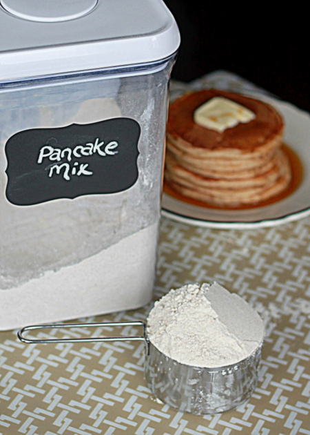 Homemade whole-wheat pancake mix | Kitchen Treaty