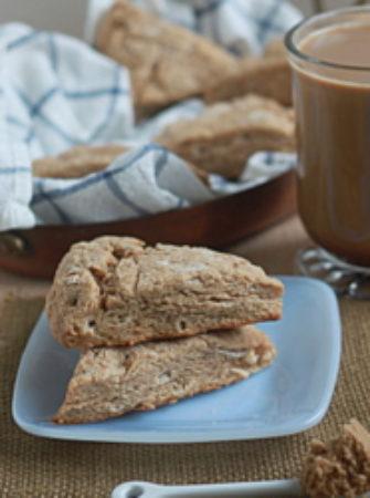 Brown sugar cinnamon scones   Kitchen Treaty