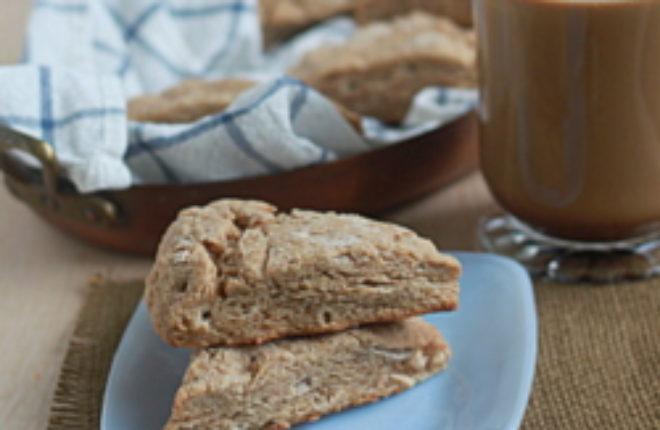 Brown sugar cinnamon scones | Kitchen Treaty