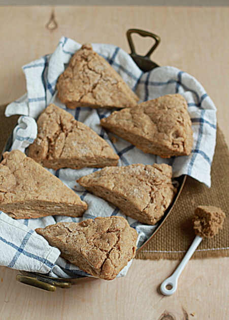Brown sugar cinnamon scones | Kitchen Treaty