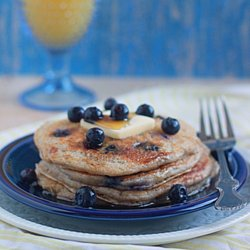 Lemon Blueberry Yogurt Pancakes