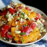 Sq Roasted Pepper and Feta Salad