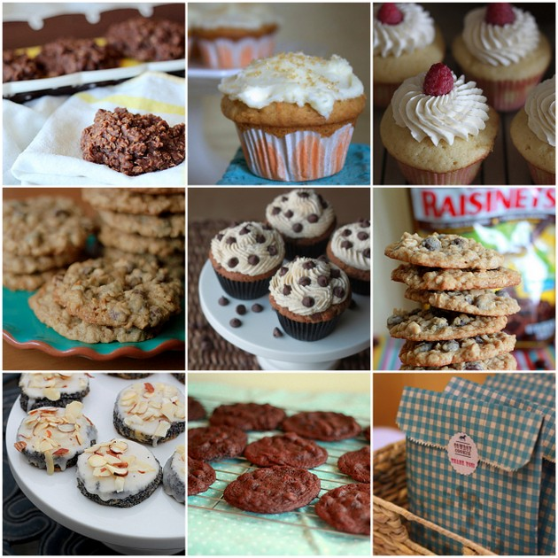 Cookies, cupcakes, and a cookie cupcake | Kitchen Treaty