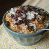 Carrot cake steel-cut oatmeal | Kitchen Treaty