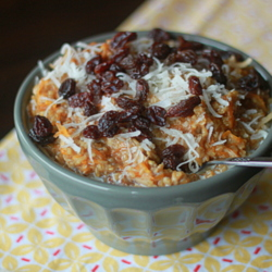 Steel-Cut Carrot Cake Oatmeal