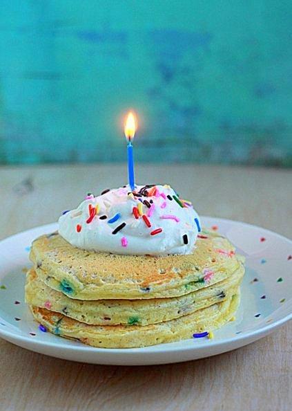 Funfetti Birthday Pancakes