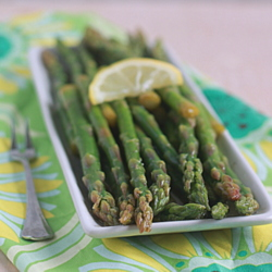 Lemony Marinated Asparagus