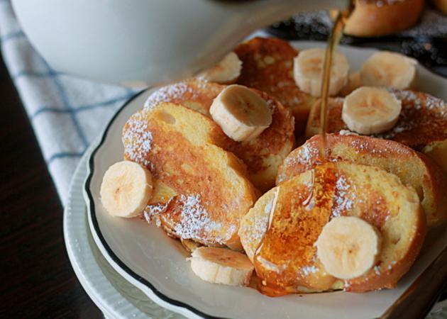 Silver dollar french toast | Kitchen Treaty