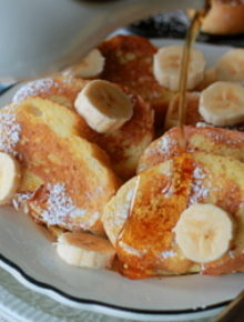 Silver dollar french toast | Kitchen Treaty