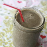 Vegan Chocolate Banana Green Smoothie (2)