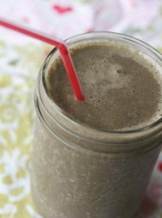 Vegan Chocolate Banana Green Smoothie (2)