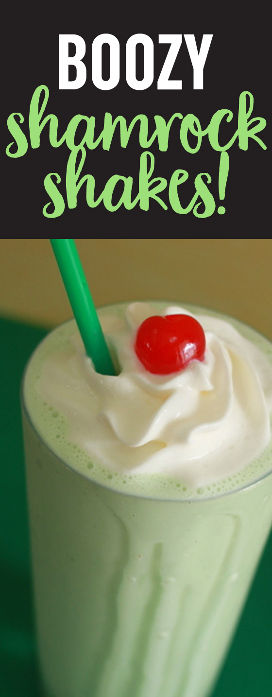 You might need to pinch yourself. Flavors of cool mint, luscious vanilla, rich Baileys, & more in this and unabashedly adult boozy shamrock shake. You need this St. Patrick's Day cocktail in your life!