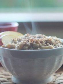 Apple-cinnamon-steel-cut-oatmeal