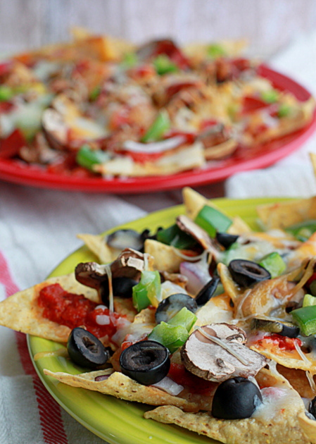 Combination Pizza Nachos