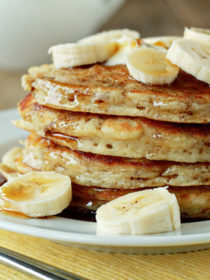 Fluffy Banana Pancakes recipe